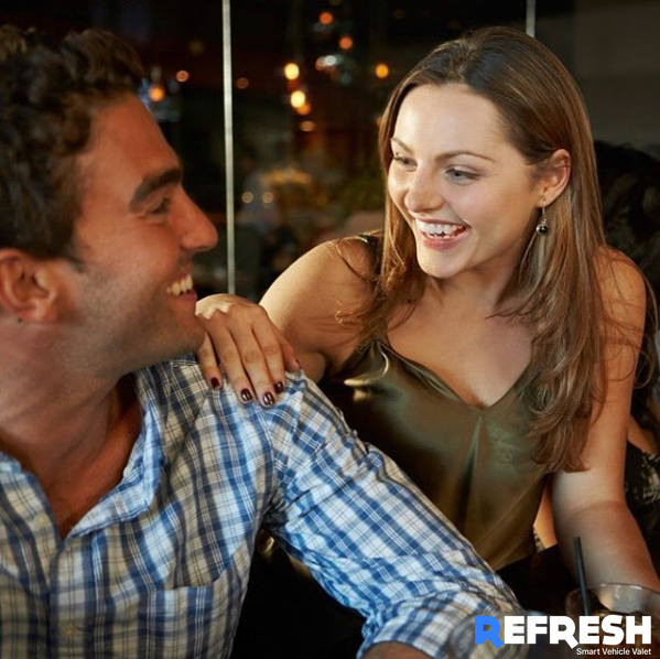 Couple having a laugh on us this summer! Save time with Refresh Car Detailing