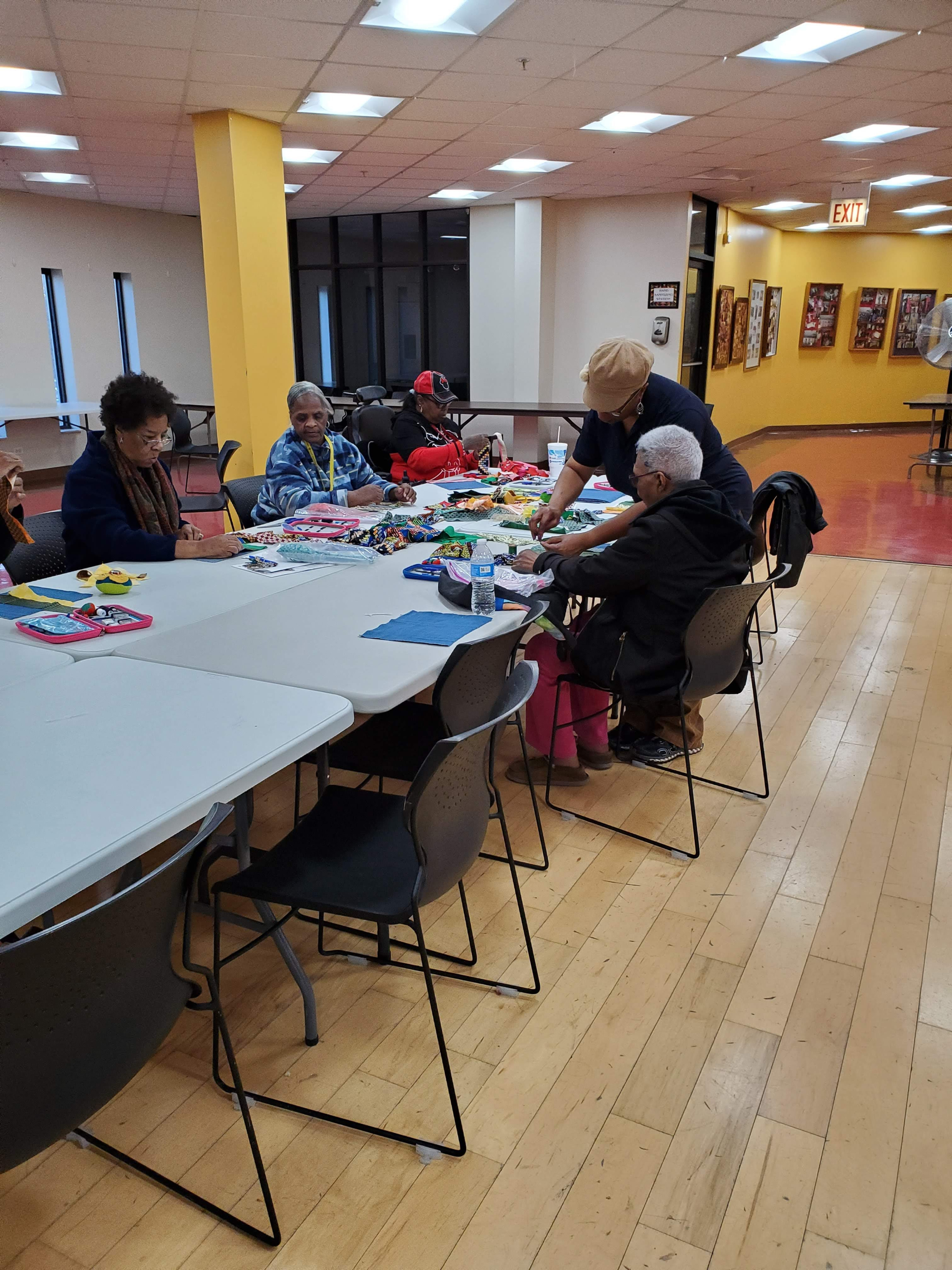 Mobile Sewing for Groups