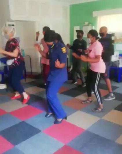 Dancing the Jerusalema