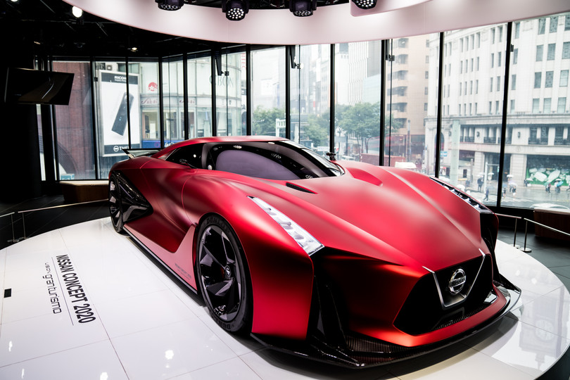 Nissan Concept 2020 Front