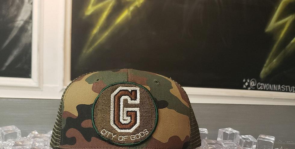 CITY OF GODS TRUCKER HAT
