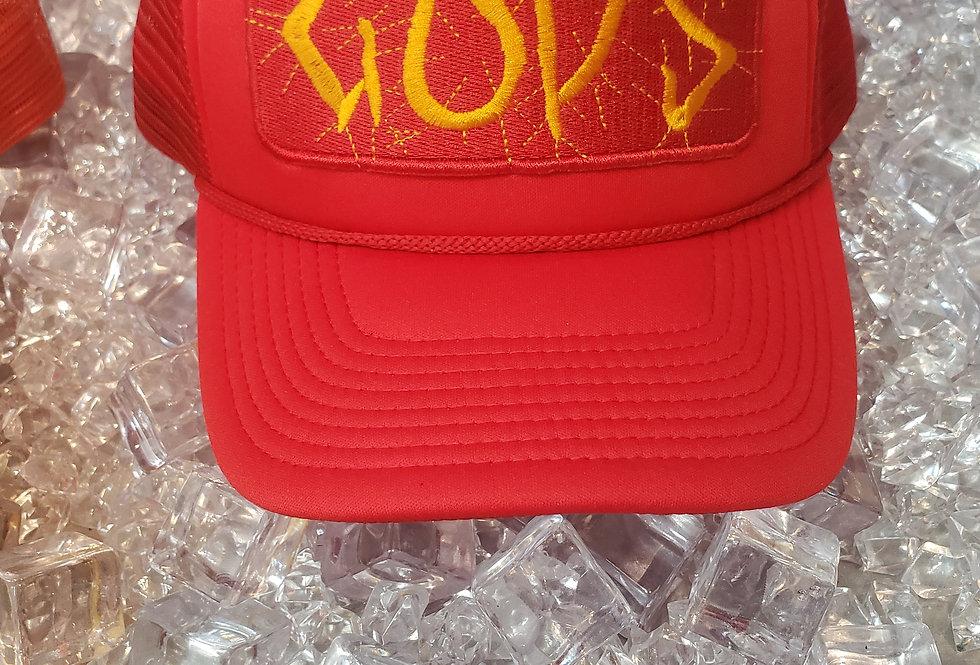 """""""ELECTRIFIED GODS"""" TRUCKER HAT"""
