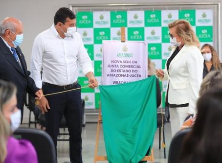 Governador Wilson Lima destaca crescimento de 52% no número de abertura de novas empresas