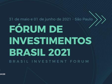 Wilson Lima participa da abertura do maior fórum de investimentos estrangeiros para o Brasil.
