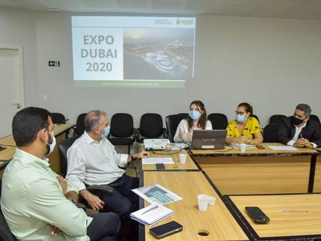 Sedecti e Amazonastur avaliam propostas para participação do Amazonas na Expo Dubai 2021/2022.