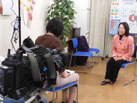 テレビ朝日、報道ステーションの取材