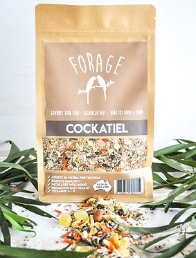 Forage Gourmet Cockatiel Mix