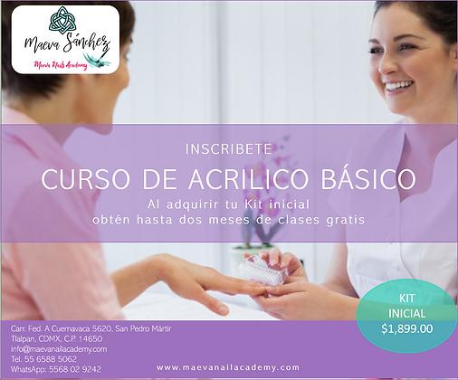 Kit Inicial Acrílico Básico