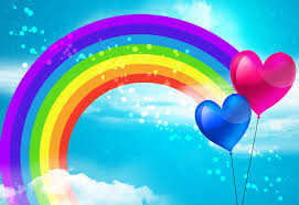 love is at rainbows end today