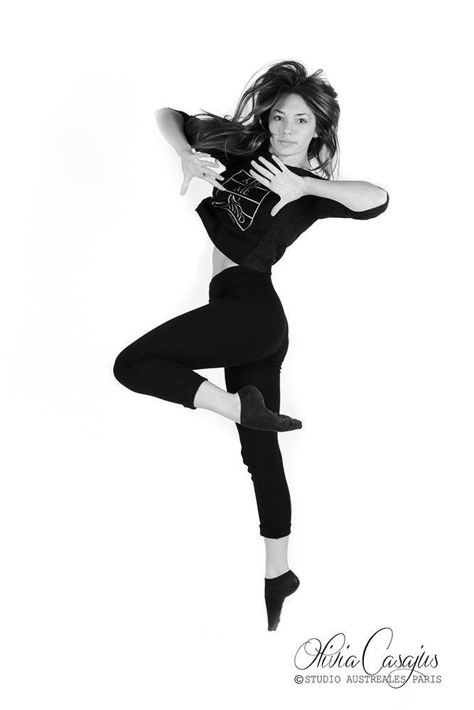 Séance photo de danse