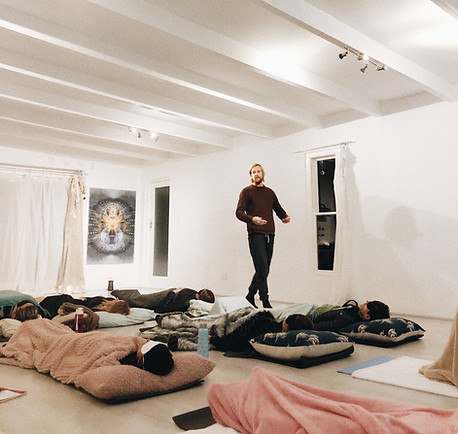 Conscious Connected Breathing session