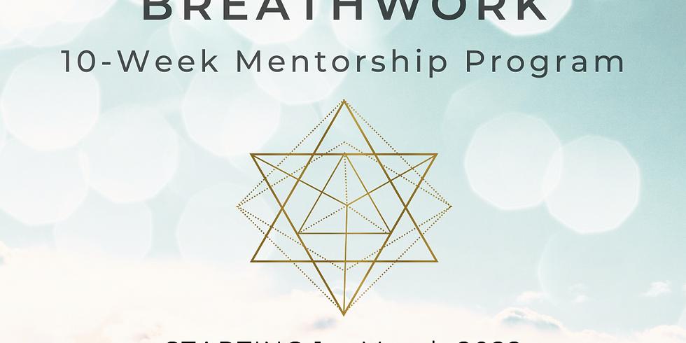 "10 Week ""Conscious Breathwork"" Mentorship Program"