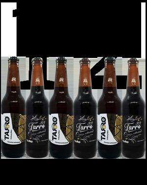 Cerveza Tarro 33 (Vanilla Porter y Ordinary Bitter) 12Pack
