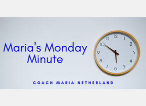 """Coach Maria's Monday Minute: """"Ten Years Later..."""""""