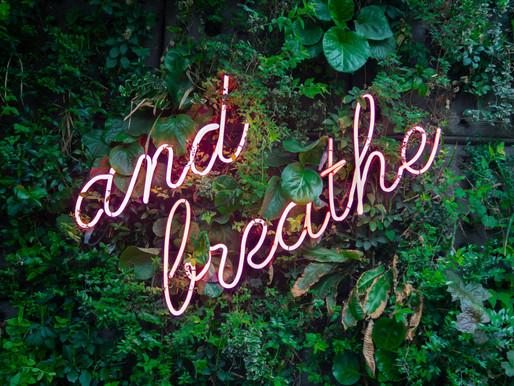 Maria's Monday Minute: Just Breathe