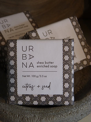 Citrus & Seed Shea Butter Soap