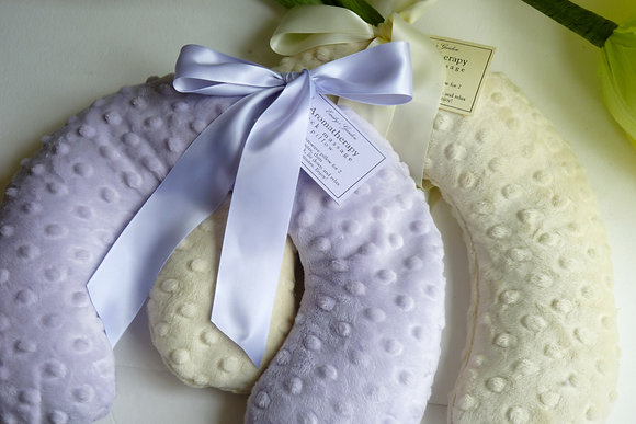 Lavender Eucalyptus Neck Pillow