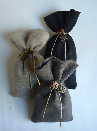 Linen Sachet Bags filled with Lavender