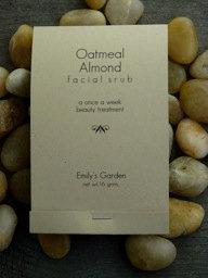 Oatmeal Almond Facial Scrub