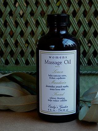 Women's Massage Oil