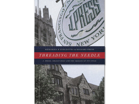 This may stop a silly outfit.  Threading The Needle by Richard Press.