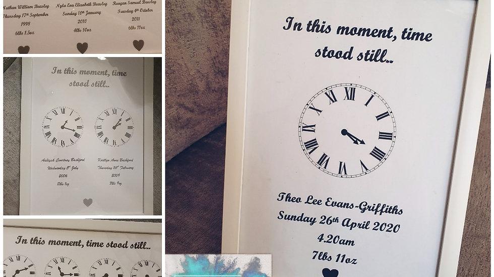 Time Stood Still Print