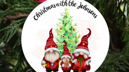 Personalised Printed Christmas Decoration