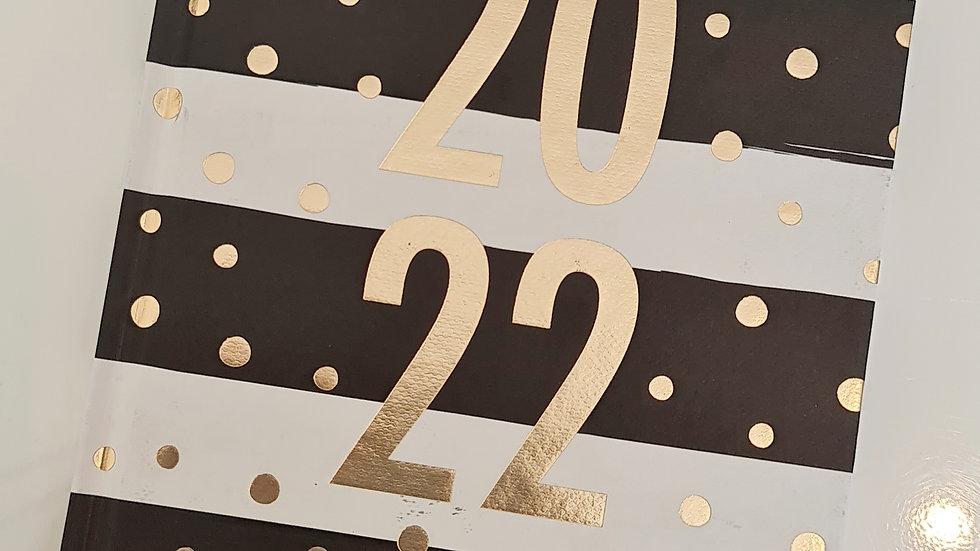 A5 Foiled 2022 Diary