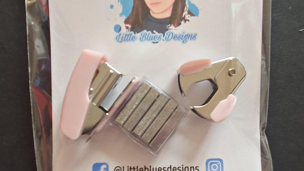 Mini Pastel Stapler, Staples & Remover