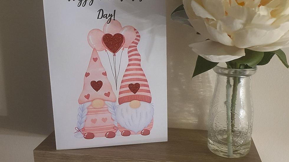 Gonk Valentines Day Card