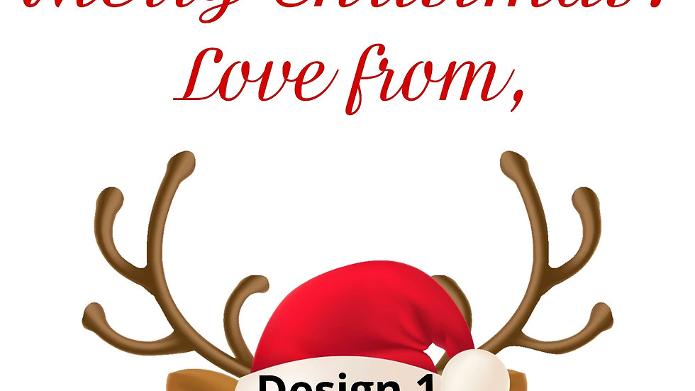 Christmas Stickers - Labels - 3 sheets