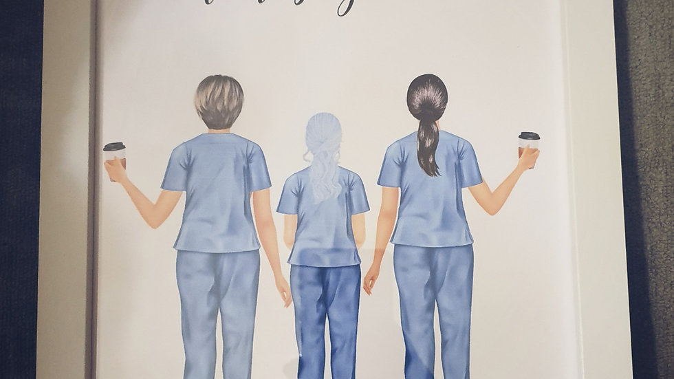 'Colleagues by chance, friends by choice' Nurse Print