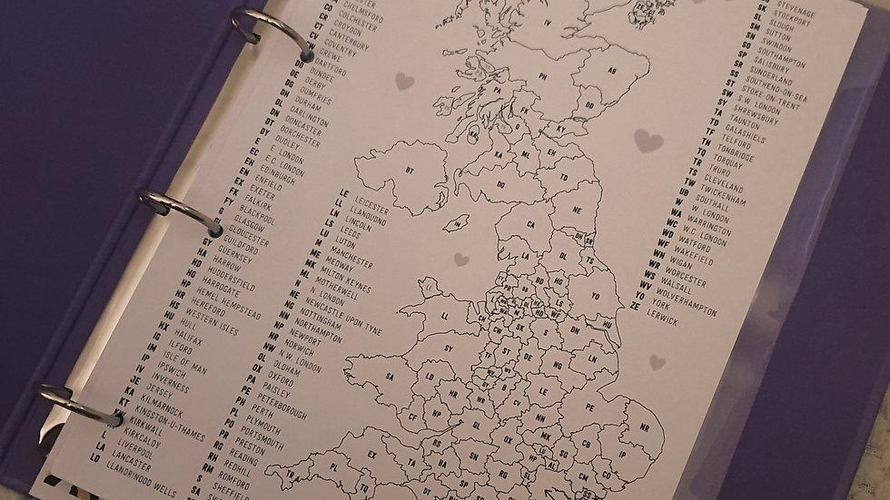UK Sales Tracker Map PDF