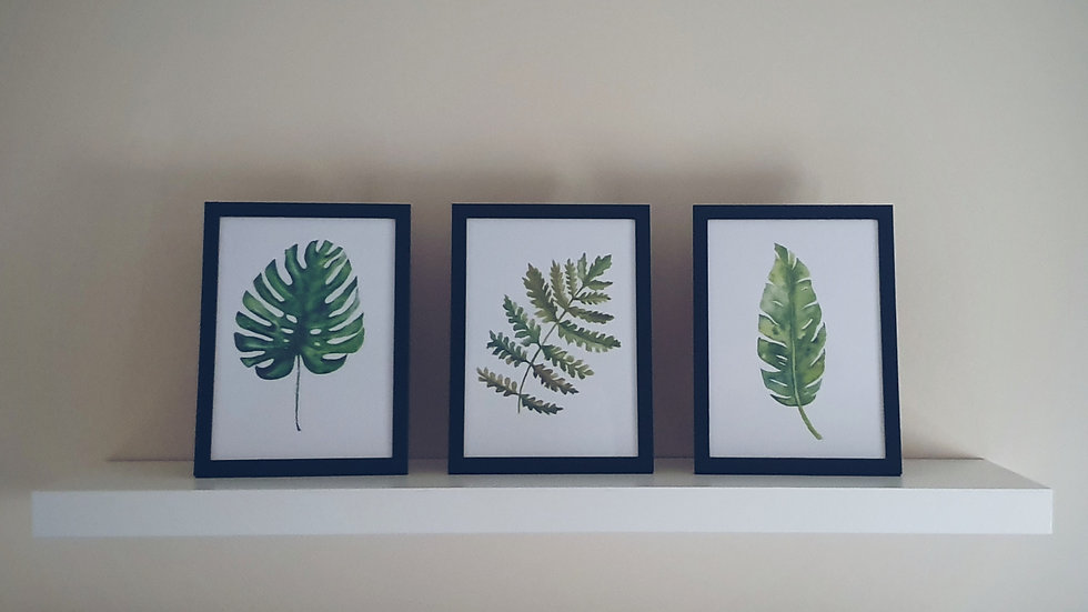 Botanical Leaf Prints