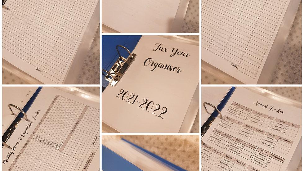 Tax Year Organiser File