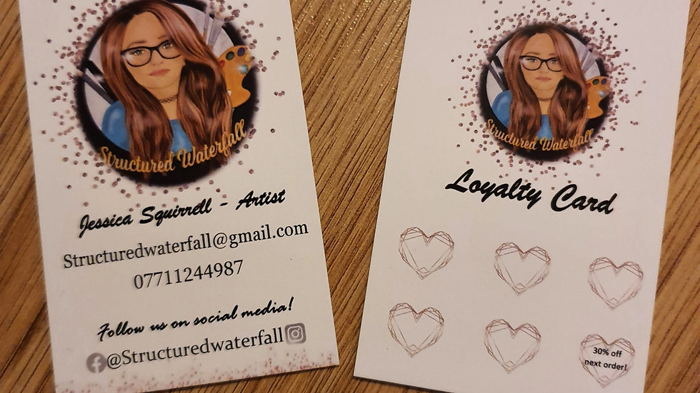 50 Personalised Business Cards