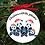 Thumbnail: Personalised Printed Christmas Decoration