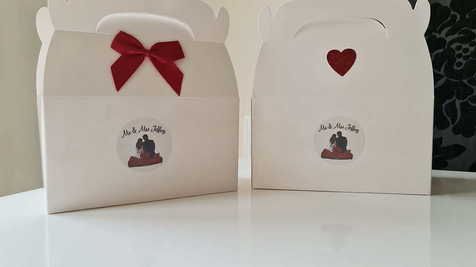 Personalised Boxes - Pack of 24