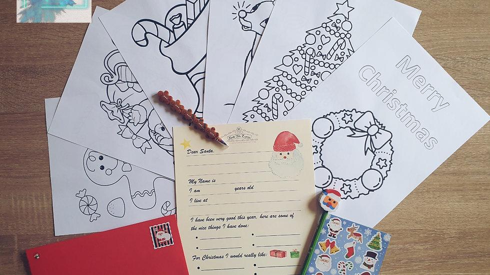 Letter to Santa Writing Set