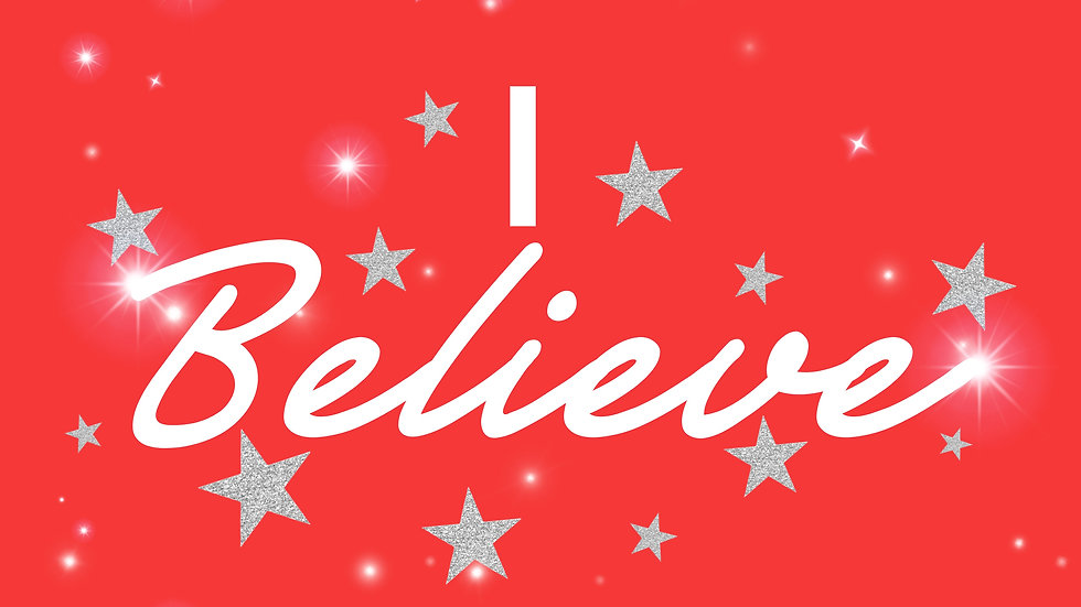 'I Believe' Stickers - 3 Sheets