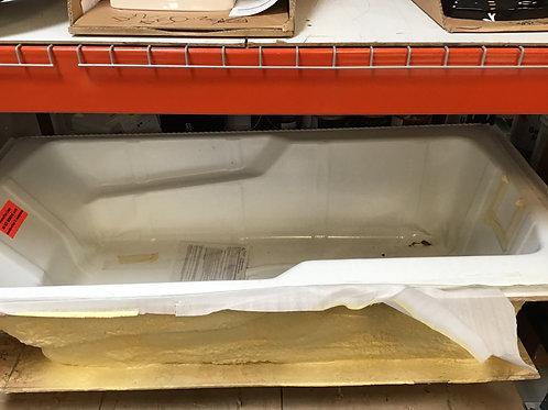 M272 - White Fiberglass Bathtub