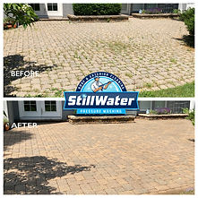 Paver Patio Cleaning Service in Worthington, Columbus, Dublin, Upper Arlington, New Albany, and Powell, Ohio Power Washing