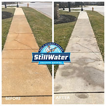 Rust Removal Columbus, Ohio - Powell, Ohio Stillwater Pressure Washing - Worhtington, Ohio - Dublin, Ohio - Driveway Cleaning near me