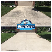 Concrete Cleaning and Sealing Service in Powell, Dublin, Worthington, Westerville, Hilliard, New Albany and Upper Arlington, Ohio.  Power Wash Powell, Ohiol