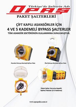 ByPass Pako Şater Asansör