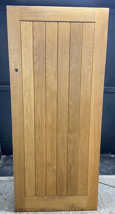 X DEEP SOLID OAK FRONT DOOR BESPOKE COTTAGE STYLE HARDWOOD 100kgs