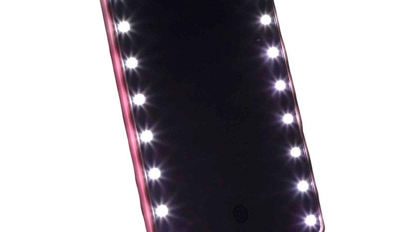 Vanity Glam Mirror | pink