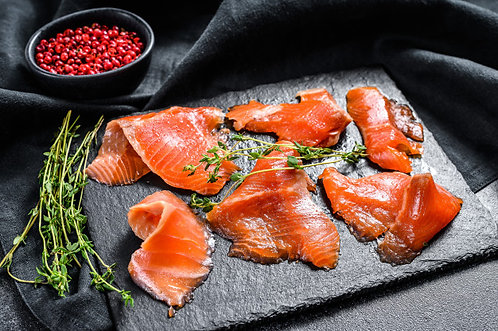 Cold Smoked Trout ribbons 80g (R40/pkt)