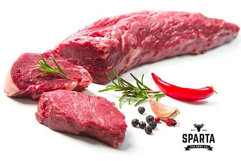Sparta grainfed beef fillets 1.50/1.80kg (R260/kg)