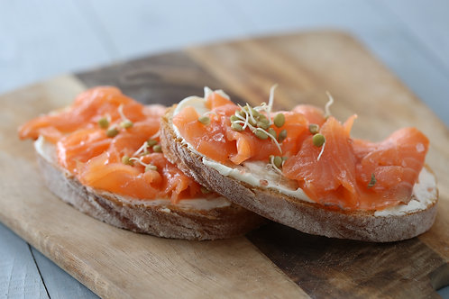 Cold Smoked Salmon ribbons 80g (R45/pkt)